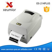 ARGOX OS-214 PLUS Alta Resolução Desktop Transferência Térmica Impressora de Etiquetas de Código De Barras Etiqueta Fita Impressora Apoio 1D/2D/QR código(China (Mainland))