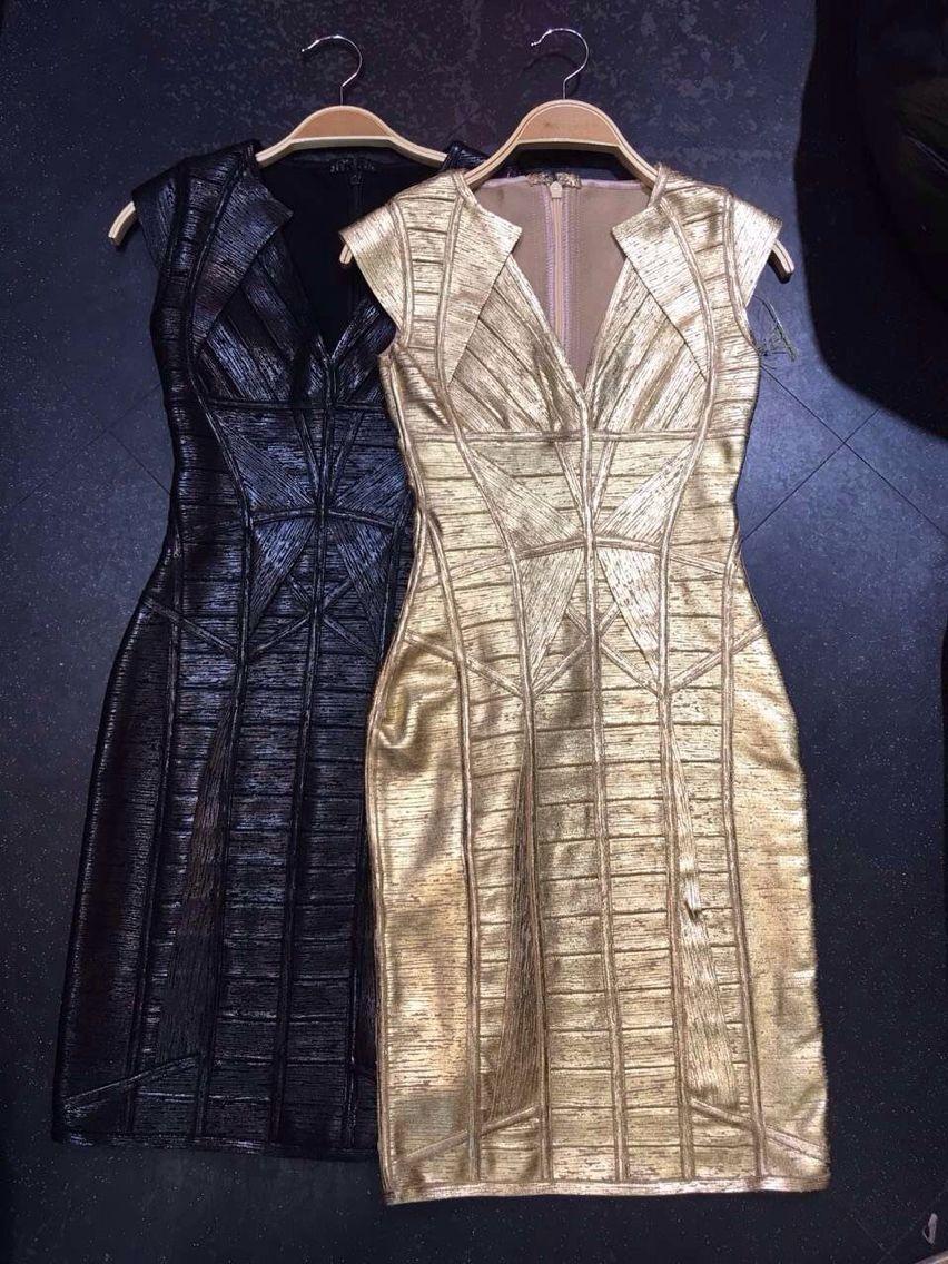 Золотое с черным платье фото