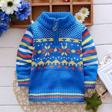children kids clothing autumn winter long sleeved Baby boys Outwear boy's knitting sweater S1831