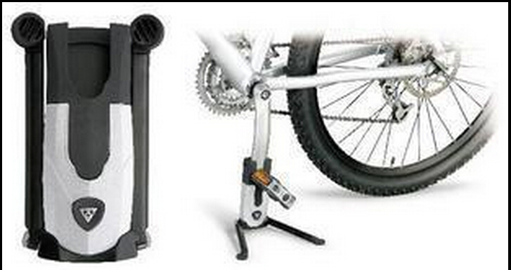 TOPEAK FlashStand FAT MTB Bike Bicycle Kickstand Crank TW007 Stay Bracket Stand Holder parking racks pocket size portable stents(China (Mainland))