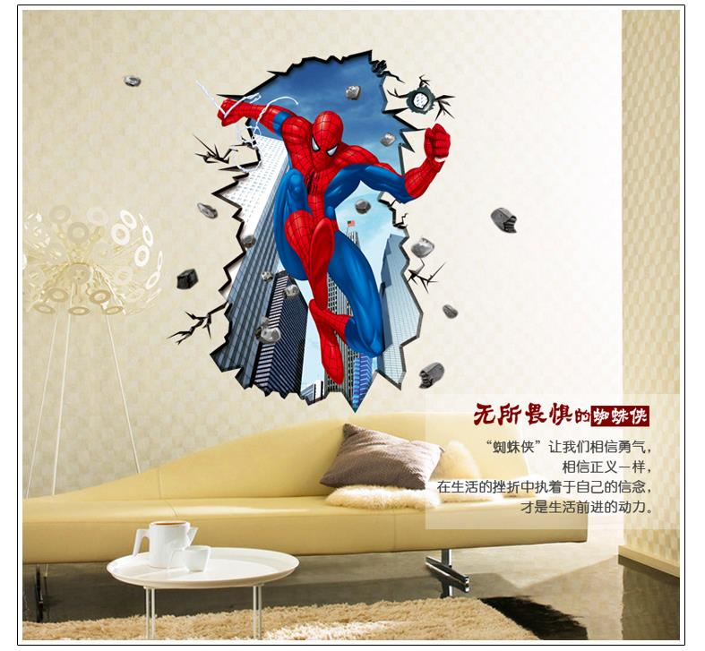 buy spiderman wall stickers for kids