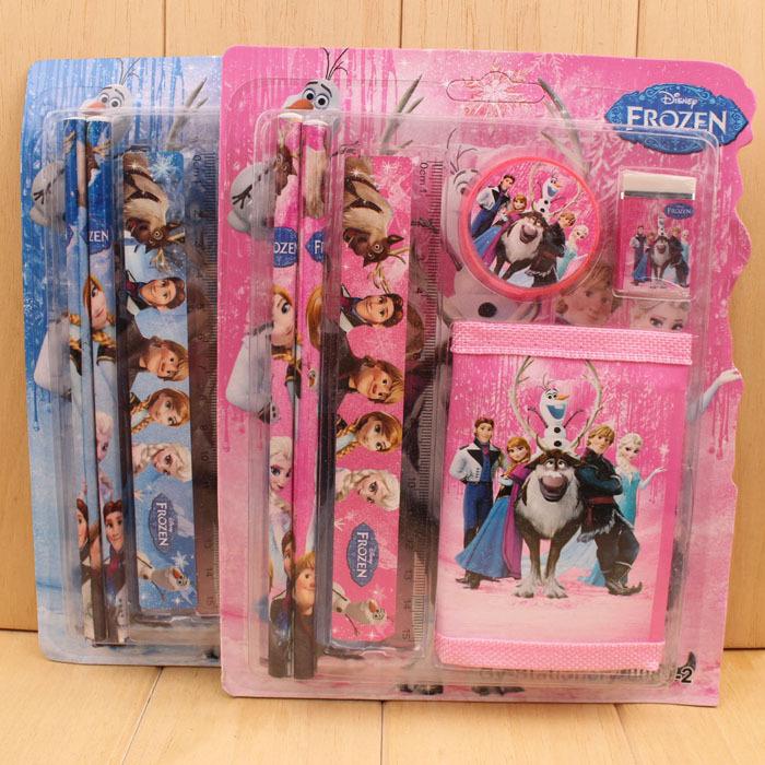 1pcs Children suit wallet pencil stationery stationery set children stationery portfolio of new prizes(China (Mainland))