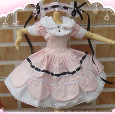 BJD doll clothing collar dress  1/4 Park spot<br><br>Aliexpress