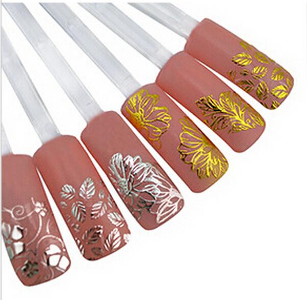 lot-3D-Nail-Sticker-Pink-Butterfly-Flower-Art-Decoration-Water-Decals ...