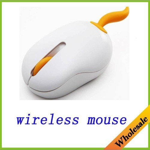wholesale free shipping beautiful cute best quality 1000DPI optical wireless mouse with pet tail providing multi colors(China (Mainland))