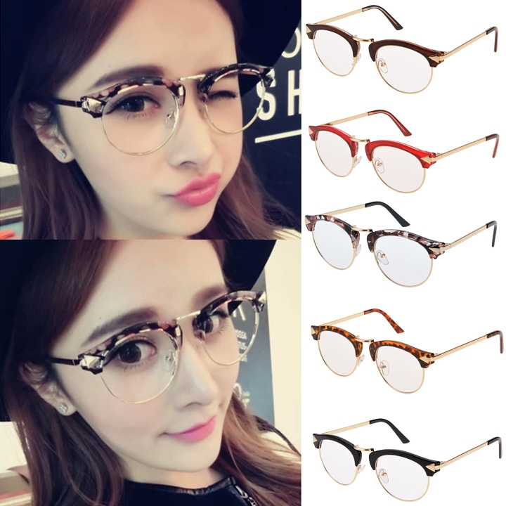 2015 New Fashion Unisex Men Women Big Round Lens Frame ...