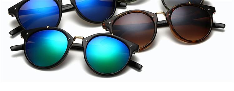 2016 Classic Brand Designer Sunglasses Women Men Retro Round Sun Glasses Woman shades Mirror Eyewear Lady Male Female Sunglass (45)