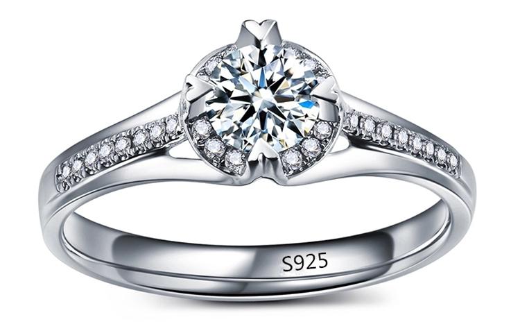 white gold jewel wedding ring hollow engagement bague vintage rings for women bijouterie bijoux MYR073(China (Mainland))