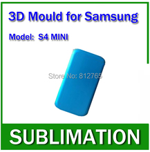 Heat press mold,Solid Aluminium Alloy 3D Sublimation Phone case Mould for samsung Galaxy s4 mini