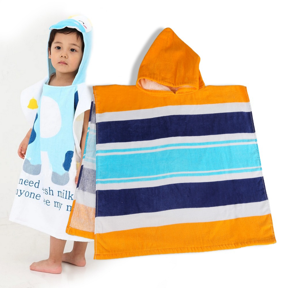 Hooded Beach Towel For Toddler