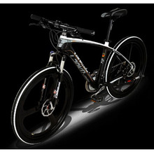 L260101 /27 speed/Mountain Bike/26 inches/Carbon fiber bicycle frame/the one body wheel/Multi-color optional/(China (Mainland))