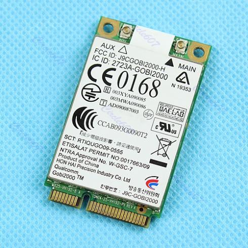 Free Shipping UN2420 GOBI2000 WWAN 3G Card For 2540P 2740P 8440P 8440W 8540P 8540W 8740P(China (Mainland))