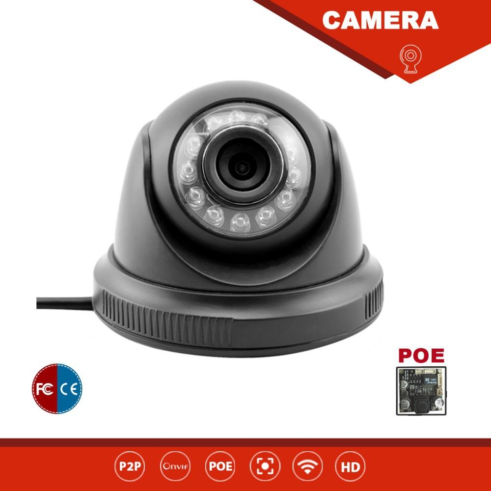 hd 720p megapixel ip camera poe indoor ir cut p2p mini dome camera built in wifi microphone ip. Black Bedroom Furniture Sets. Home Design Ideas