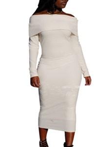 2015 мода зима платье с длинным рукавом женщин свободного покроя свитер платья с оборками основной цельный плиссе тонкий сверхразмерные вязать