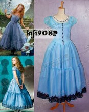new 2016   Alice in Wonderland Costumes cosplay Court dress spot