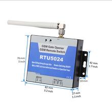 200 usuarios inalámbrica GSM abridor de puerta interruptor de relé remoto controlador para la puerta del garaje abrelatas abridor de puerta con una carga llamada(China (Mainland))