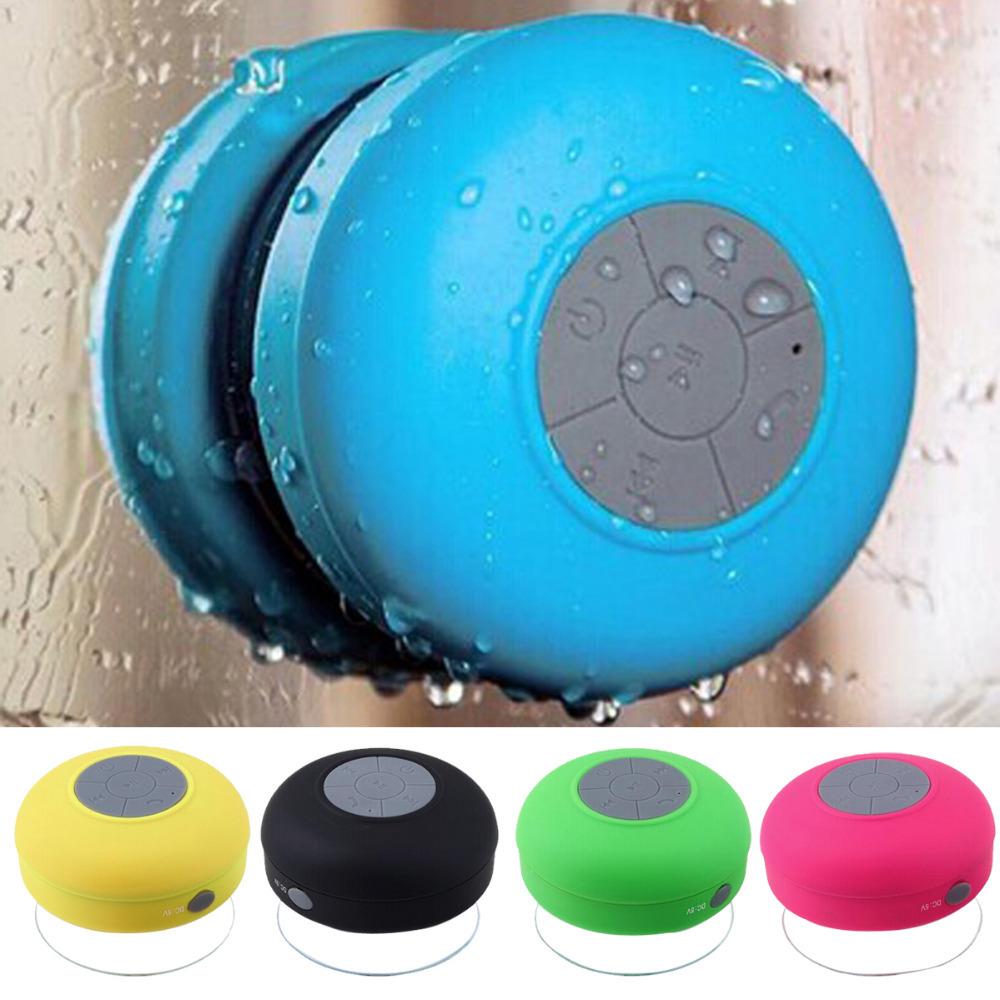 Waterproof Wireless Bluetooth Speaker Shower Car Handsfree Receive Call & Music Suction Phone Mic For iPhone 6 6 Plus Samsung(China (Mainland))
