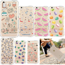 Armor Shock Proof Case for iPhone 5s SE 6 6S 6Plus 6S Plus Watermelon Diamond Macarons Nurse Unique Cartoon Design Back Cover