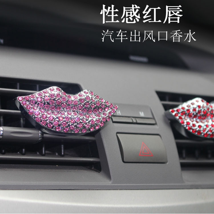 XGZ Air conditioning tuyere clip mouth car perfume do diamond inlaid on-board personality<br><br>Aliexpress