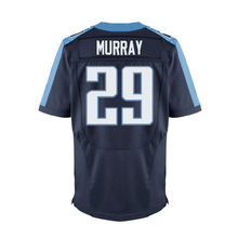 #8 Marcus Mariota Adult #29 Demarco Murray Light Blue White Elite 100% Stitched Logos Free shipping(China (Mainland))