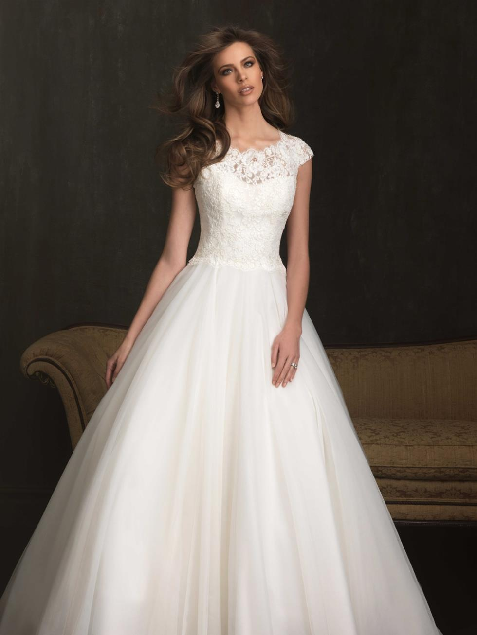 Wedding Dress With Buttons Down Back