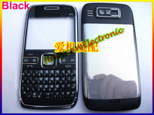Super High Quality NEW Mobile Shell Full Housing Cover Case+Keypads for Nokia E72 with LOGO 5COLOR(China (Mainland))