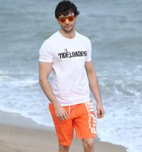 Men swimsuit beach men shorts brand swimwear swim boardshort quick drying bermudas masculinas de marca surf