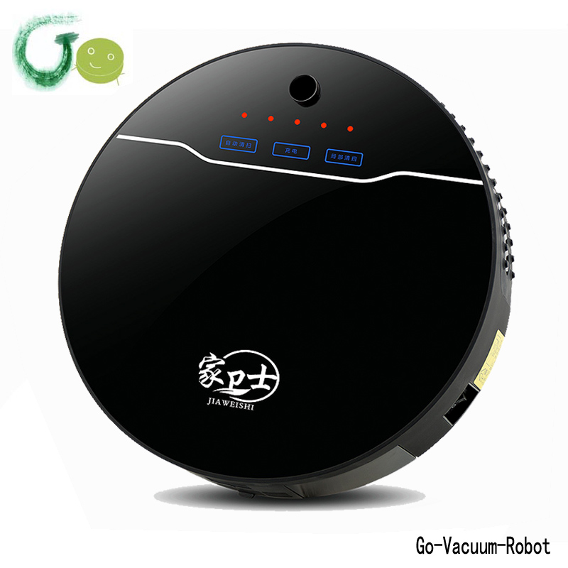 New Original Sweeper Vacuum Cleaner Robot black&white available with virtual wall,remote control,anti fall,HEPA filter hoover(China (Mainland))