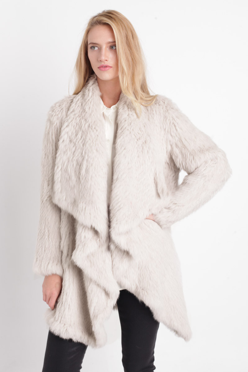 Online Buy Wholesale fur waterfall jacket from China fur waterfall ...