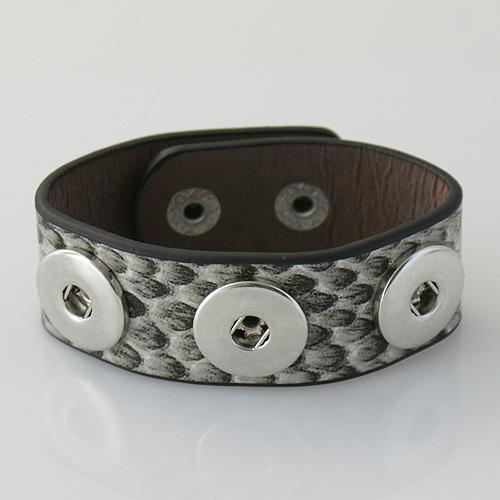 product DIY economic leather snaps bracelets buttons bracelets fit ginger snap buttons from www partnerbeads com KB0601-24