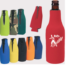 SALE , CUSTOMIZED LOGO Foldable Stubby Holder,Fashion Neoprene Beer Botte Coolers For Gift ,FREE Shippng(China (Mainland))