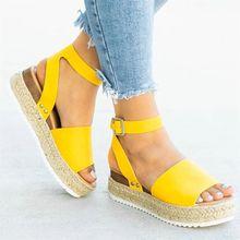 Puimentiua Wedges รองเท้าผู้หญิงรองเท้าแตะขนาดรองเท้าส้นสูงรอง(China)