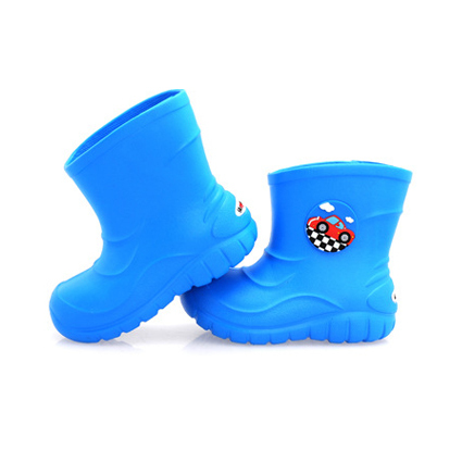 New children rainboots girls boys rainboots kids winter waterproof boots thick rain snow boots cute cartoon child boots(China (Mainland))