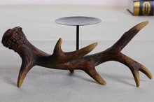 deer antlers candle holder Nordic style home decoration(China (Mainland))