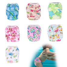 Baby Swimwear Pattern Reusable Cloth Diapers Diapers Training Pants Unisex(China (Mainland))