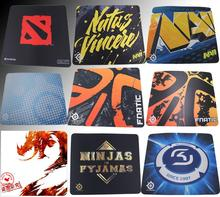 Steelseries QCK Mouse pads Game Team RAZER NIP Ninjas in Pyjamas gaming Mouse Pad Fnatic NAVI VIRTUS.PRO Cloud9 Envyus DOTA2 MAT(China (Mainland))