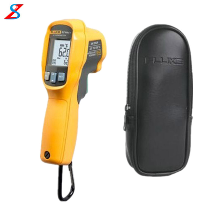 Fluke 62MAX PLUS IR Infrared Thermometer/Thermal Temperature Reader with C23 Case(China (Mainland))