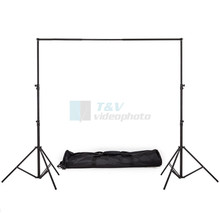 High quality  2M X 2M  Backdrops Background Support System Stands  For Photography Photo Studio + Carry Bag Free Shipping(China (Mainland))