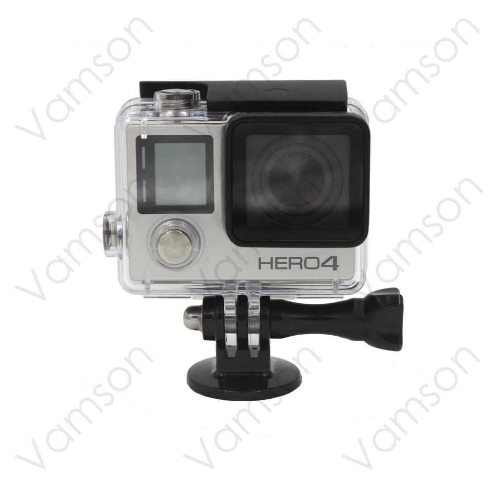 Go Pro Accessories Mini  Monopod Tripod Holder Case Mount Adapter for GoPro Hero 4 3+ 2  SJ4000 Xiaomi Yi Camera Black  VP101