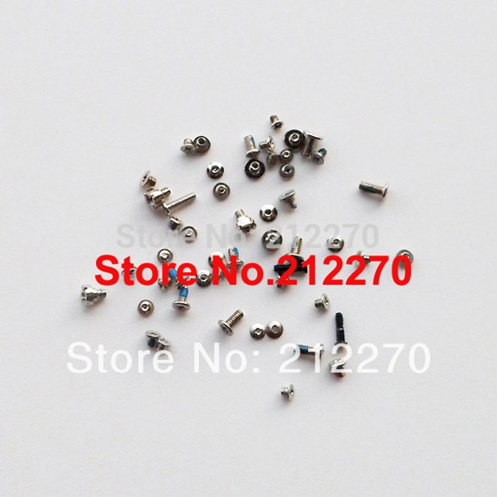 Original New Full Screws Set For iPhone 5S Replacement Parts 10set/lot