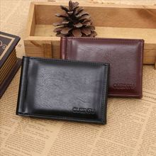 2015 New Arrival European and American Style Fashion Brand Quality Patent Leather Designer Men Money Clip Factory Price On Sales(China (Mainland))