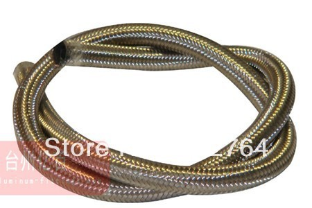AN -4(AN6 AN04) Stainless Steel Braided Fuel Hose 6m(China (Mainland))