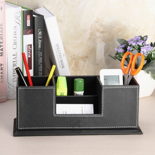 Buy NAHAM Office Desktop PVC Leather A4 File Three-Layers ...