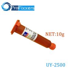 NET 10g high quality UY-2500 UV Glue LOCA Liquid Optical Clear Adhesive For Repair Cellphone Glass Lens 2500 uv glue(China (Mainland))