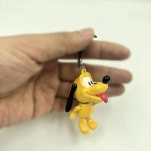 1PCS Ponto Tigger esquilo Brinquedos Figuras de Ação Anime Figura Chaveiro PVC Chaveiro Keychain Keyholder Presentes Unisex NOVO(China)