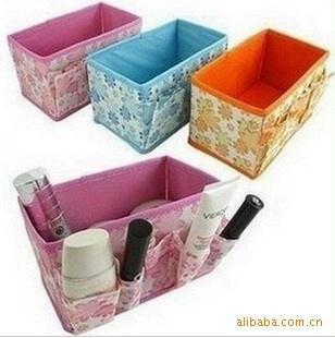5pcs/lot Cosmetics receive box make-up box jewelry box Private small objects receive bag/FREE SHIPPING(China (Mainland))