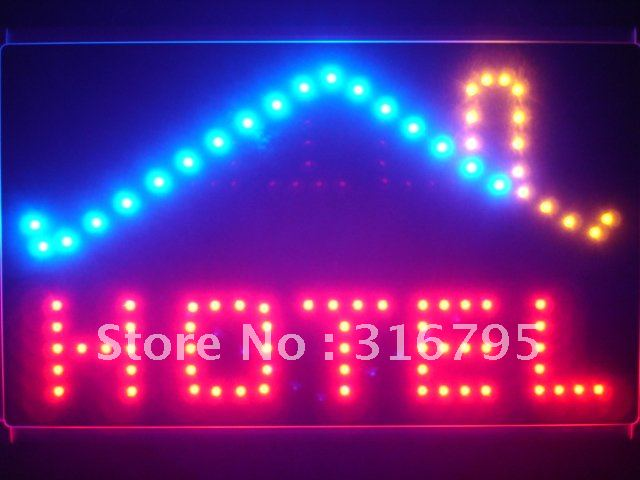 led122-r Hotel OPEN Display Led Neon Sign WhiteBoard<br><br>Aliexpress