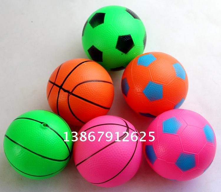 Infant children's small ball toy elastic ball 4 inch small children about 10cm basketball ball toy ball basquete(China (Mainland))