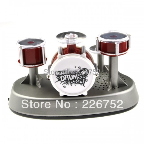 Mini Red Electronic Finger Touch Jazz Drum Music Game Set Adults Children Toy(China (Mainland))