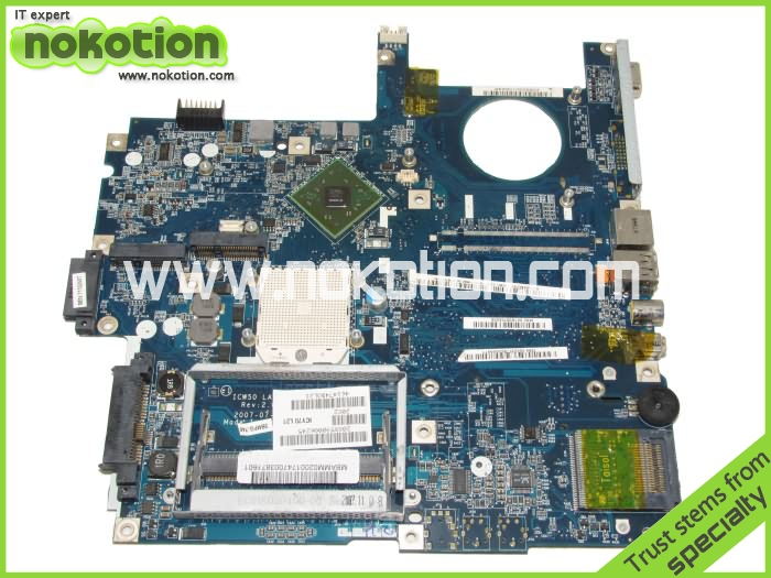 MB.AMM02.001 Laptop motherboard For Acer aspire 5520 main board LA-3581P AMD DDR3 100%test(China (Mainland))